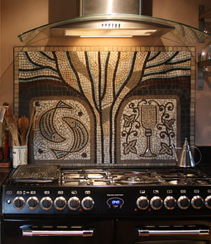 Contemporary Stone mosaic