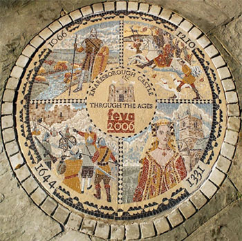 Knaresborough Castle Mosaic