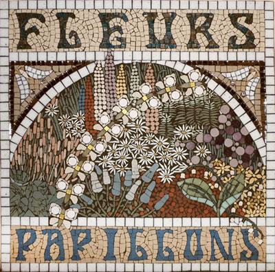 Mosaic splashback