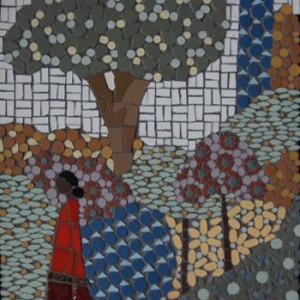 Indian Garden mosaic