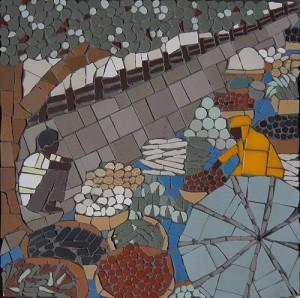 Indian market mosaic