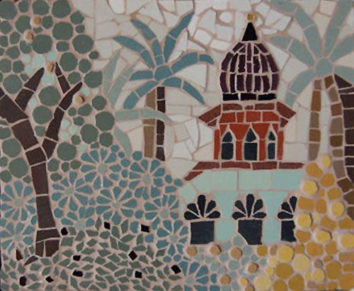 Temple mosaic