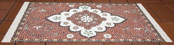 Persian rug mosaic