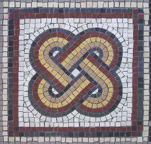 Roman Mosaics Wall Mosaic