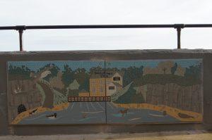 Boggle Hole Mosaic Robin Hood's Bay Sea Wall