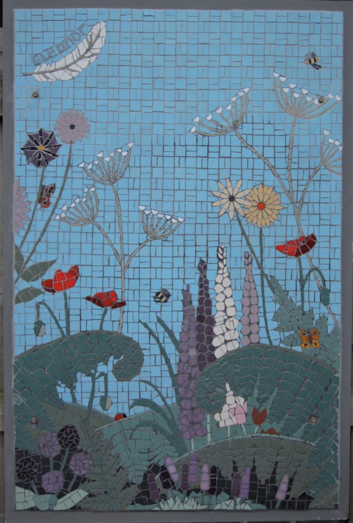 Birstwith school mosaic