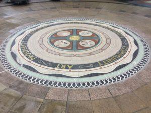 Leeds Victoria Quarter Mosaic