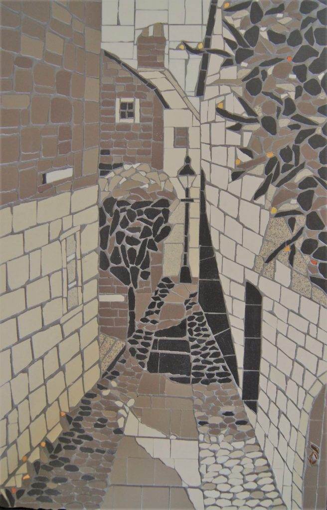 Shadow Street mosaic
