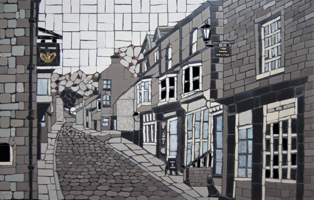 Pateley Bridge High Street Mosaic